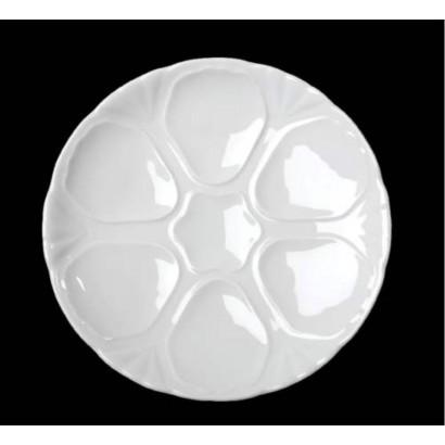 Lėkštė austrėms (keramikinė)